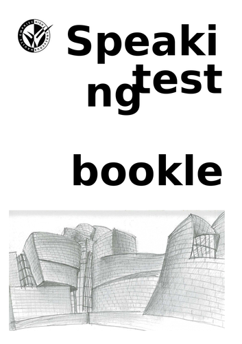 New Spanish GCSE - Paper 2 (Speaking exam) booklet: general conversation with model answers
