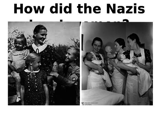 Nazis treatment of women