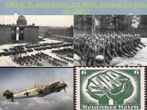 Road to war- Dollfuss, Saar, Rearmament