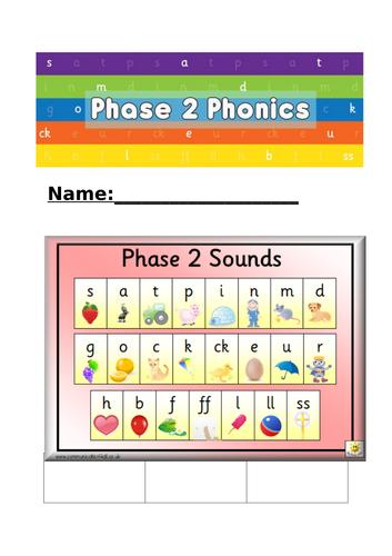 Phonics Journals Phase 2-5