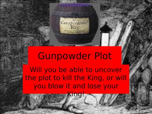 Gunpowder Plot 15 Questions quiz