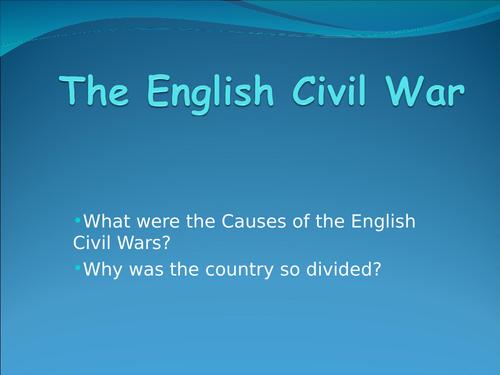 15 Questions Quiz English Civil War