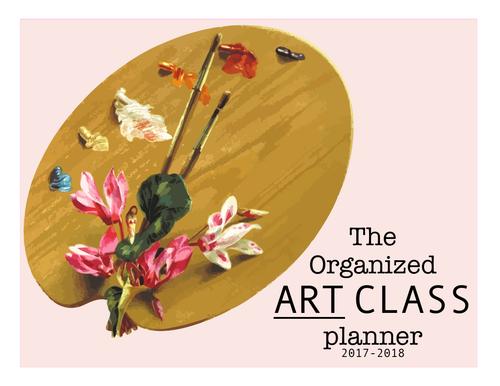 Art Teacher Planner - Floral version