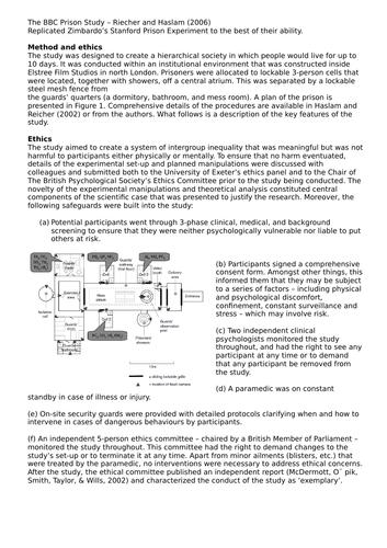 L3 BTEC Health and Social Care - Unit 4 (Enquiries into Research) - LA.A, B3, LA.C