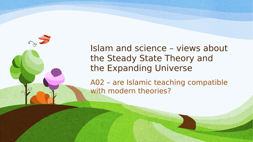 Islamic views of Creation and the Steady State Theory