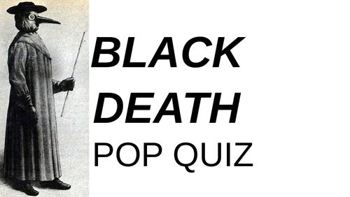 Black Death Pop Quiz