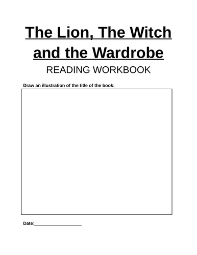 Lion, the Witch and the Wardrobe - Chapter Assessments