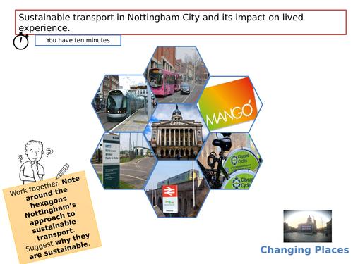 Impact of infrastructure development - Transport,  Nottingam