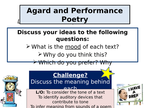 Checking Out Me History - AQA Poetry Conflict Cluster