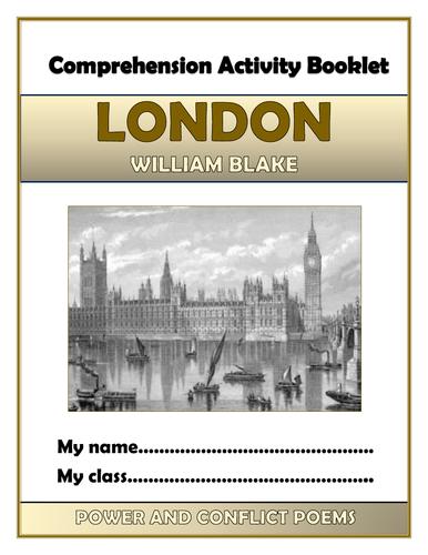 alliteration in london by william blake