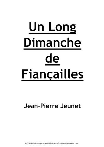 Un Long Dimanche de Fiancailles - Booklet TO COMPLETE