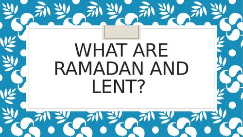 Comparison of Lent and Ramadan