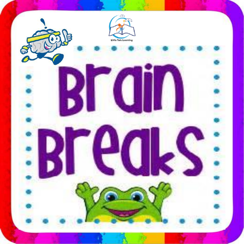 Brain Break Task Cards | 75 Brain Break Task Cards