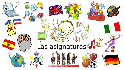 KS3 Spanish: School subjects, timetable & opinions