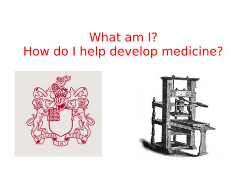 Renaissance medicine revision session