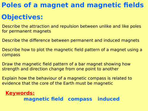 AQA Physics New GCSE (Paper 2 Topic 3) – Magnetism and electromagnetism (4.7) ALL TRILOGY  LESSONS