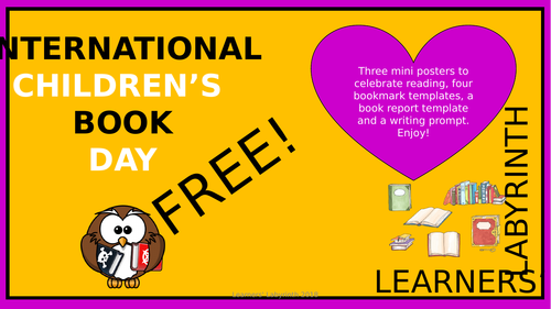 International Children's Book Day- FREE