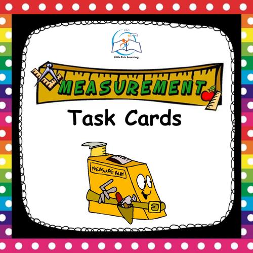Measurement Task Cards Length, Perimeter, and Area