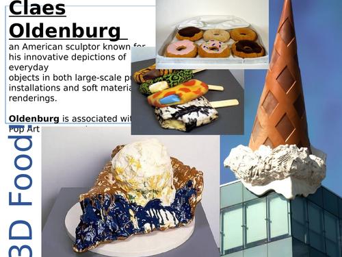 3D Food Art Project