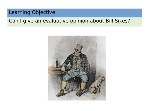 OLIVER TWIST Chapter 13 Bill Sikes Character Analysis