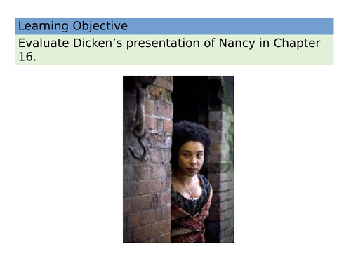 OLIVER TWIST Chapter 16 Nancy Character Analysis