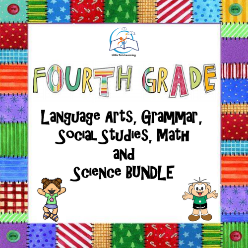 Whiteboard 4th Grade Language Arts | Grammar | Math | Social Studies | Science