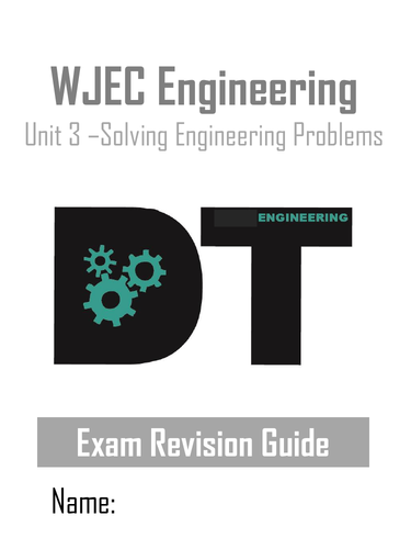 WJEC Engineering - Revision guide