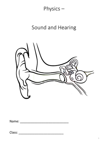 Sound and Hearing - Complete Topic KS3