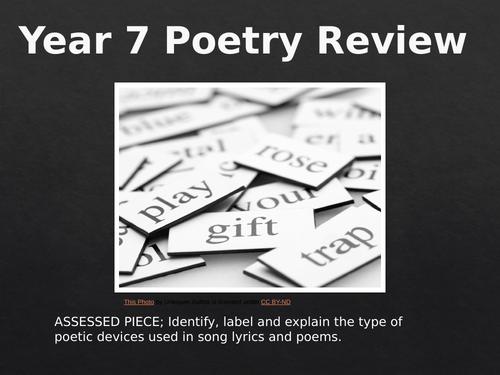 KS3 Poetry review