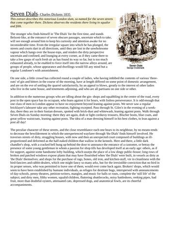 AQA GCSE Language Paper 2 mock exam - London city