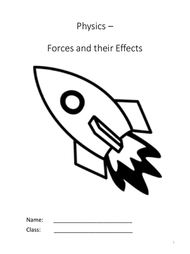 Forces and their Effects Complete KS3 Unit