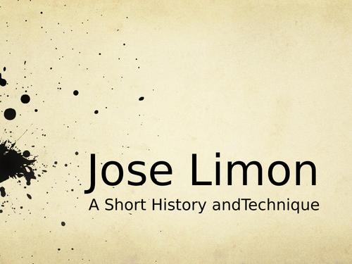 Jose Limon Powerpoint