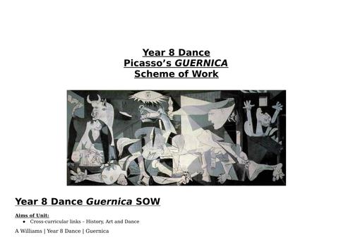 Dance Scheme of Work - Guernica