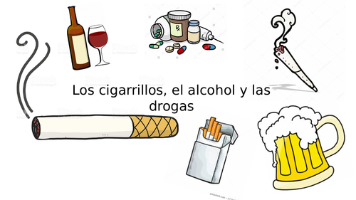 GCSE Spanish: Smoking, Drinking, Drugs