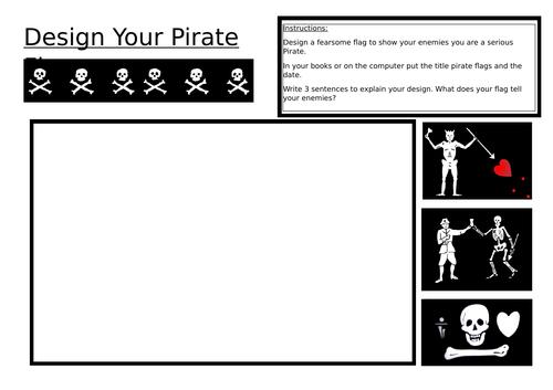 Design your pirate flag