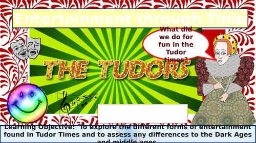 Tudor and Anglo Saxon entertainment