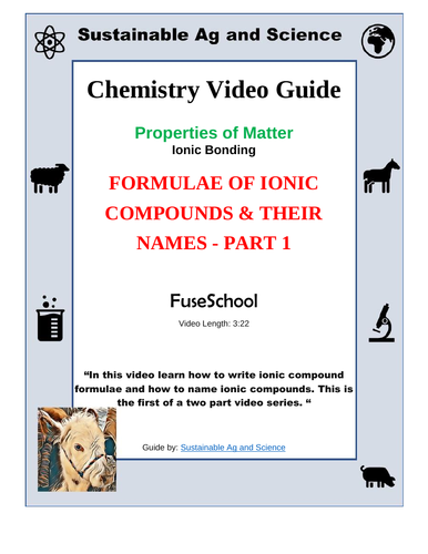 two properties of ionic compounds