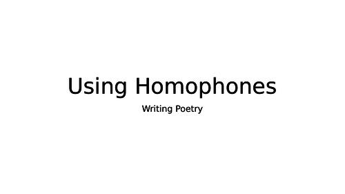 Using Homophones