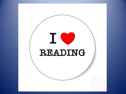 Reading enjoyment INSET