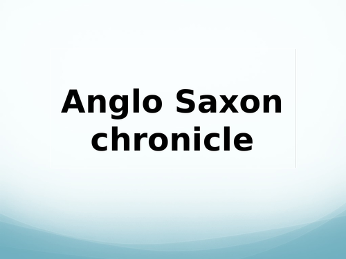 Edexcel GCSE (9-1) History Anglo-Saxon and Norman England Spin Powerpoint