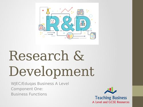 Research and Development