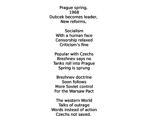 Revision:  Prague Spring