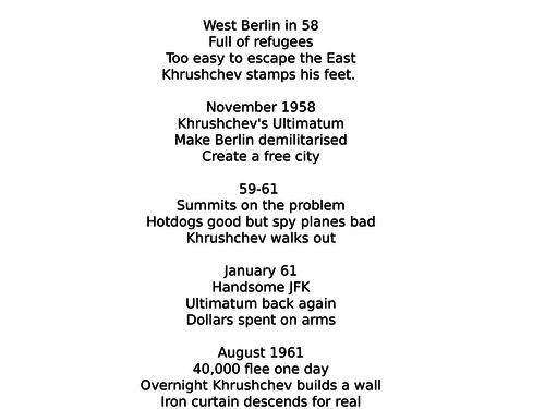 Revision:  Berlin 1958-1961