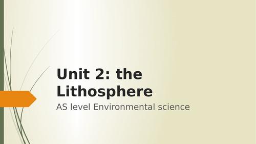 AQA AS environmental science