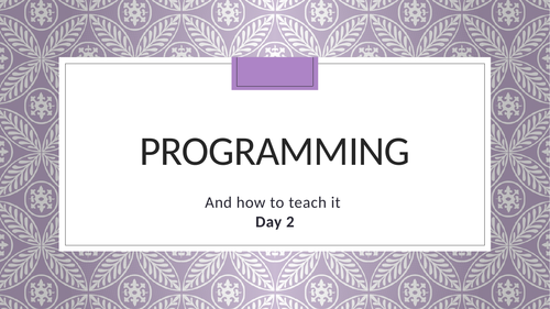 Programming – Concepts, BASIC Commands and Scratch Alternatives