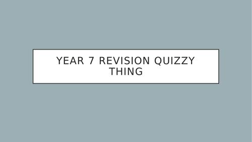 CE PPT revision quiz 1485-1558