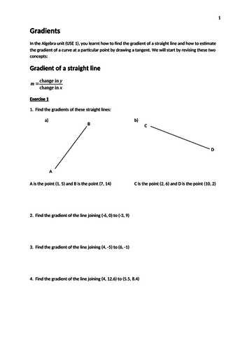 AQA Use of Maths (Pilot) Differentiation Booklet
