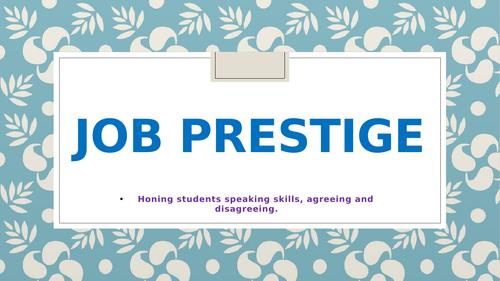 Job Prestige