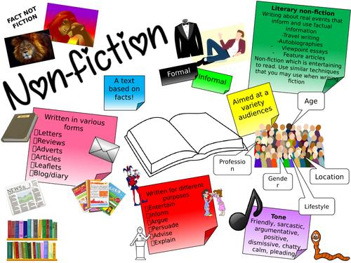 Visual English Non-Fiction Revision Mats (GCSE)