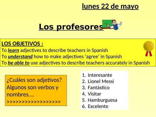 KS3+4 - En el insti - profesores